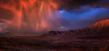AFRICA – NAMIBIA – STORM OVER WOLWEDANS