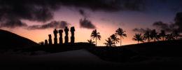 POLYNESIA – RAPA  NUI – AHU BRIGADE